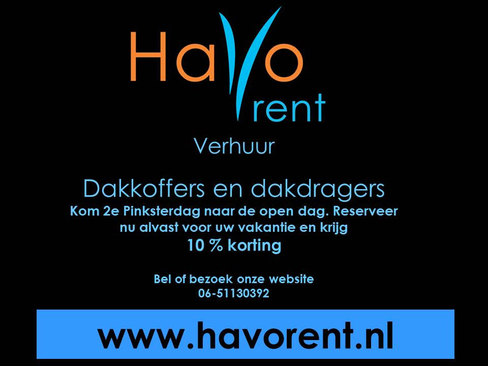 Advertentie Havorent 2e pinksterdag